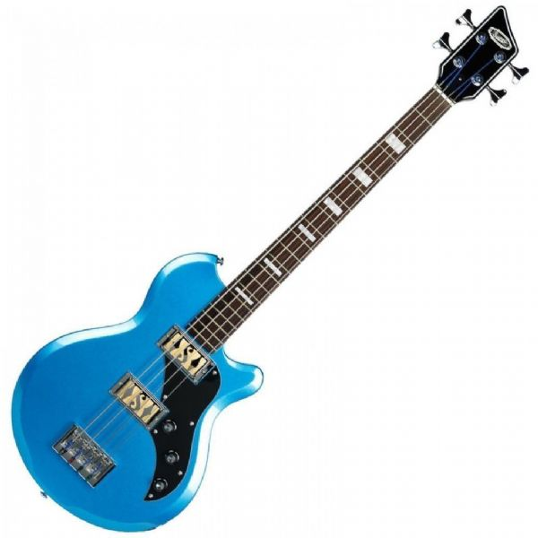 SUPRO HUNTINGTON 2 BASS GUITAR - OCEAN BLUE METALLIC - 2042BM
